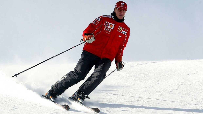 Formel 1-legenden Michael Schumacher dyrkede et meget aktiv liv og var blandt andet glad for at stå på ski.