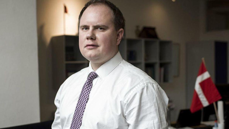 Martin Henriksen, folketingsmedlem for Dansk Folkeparti.