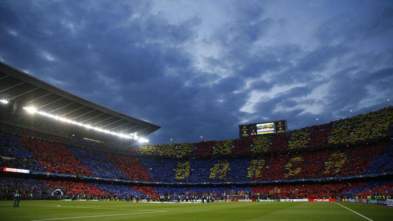 Camp Nou. Arkivfoto.