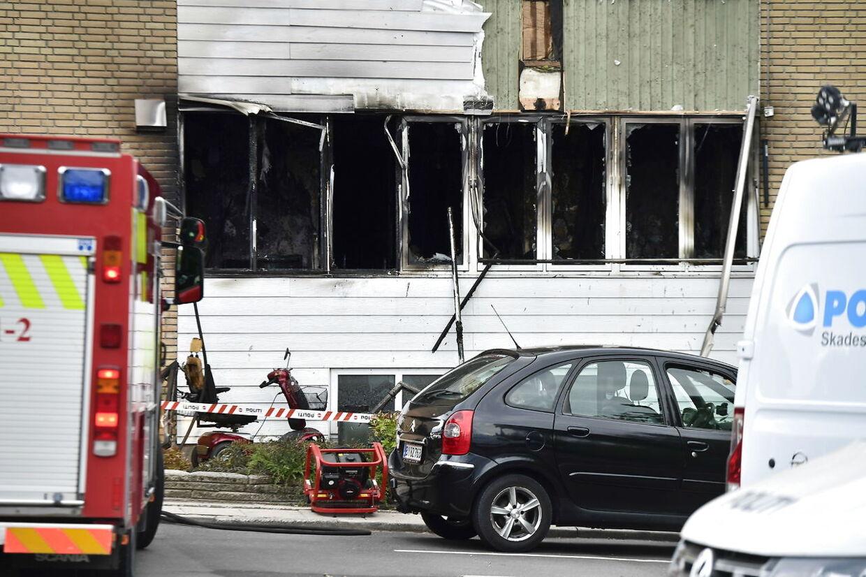 Tre miste livet i brand