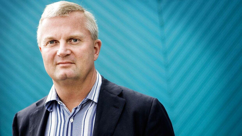 Erhvervsmanden Aldo Petersen var bestyrelsesformand i Brøndby fra juni 2013 til april 2014.