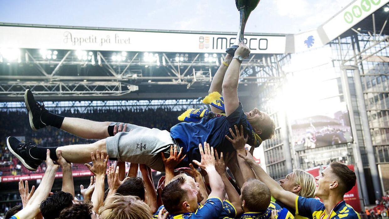 Brøndby vandt tidligere i år Pokalfinalen over Silkeborg. Det var klubbens første titel i 10 år.