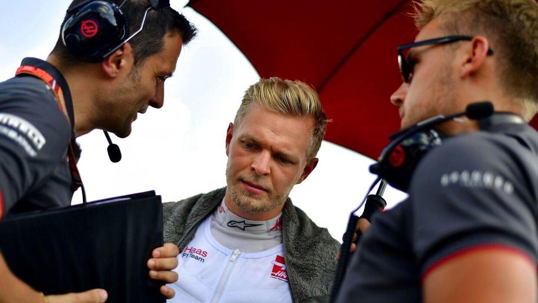 Kevin Magnussen er i gang med sin anden sæson hos Haas.