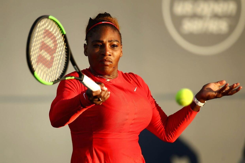 Serena Williams led sit største nederlag til Johanna Konta i sidste uge. Ezra Shaw/Getty Images