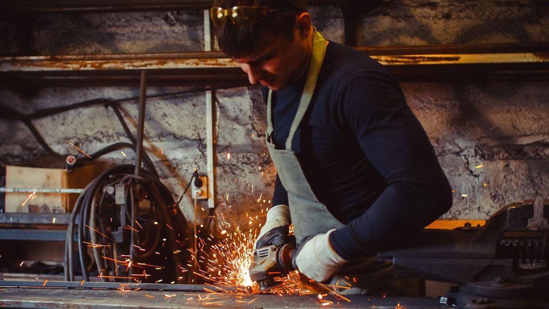 Mange håndværkere lider i varmen.