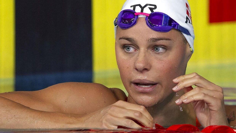 OL-guldvideren Pernille Blume skuffede fælt ved EM i Glasgow og missede finalen i 100 meter fri