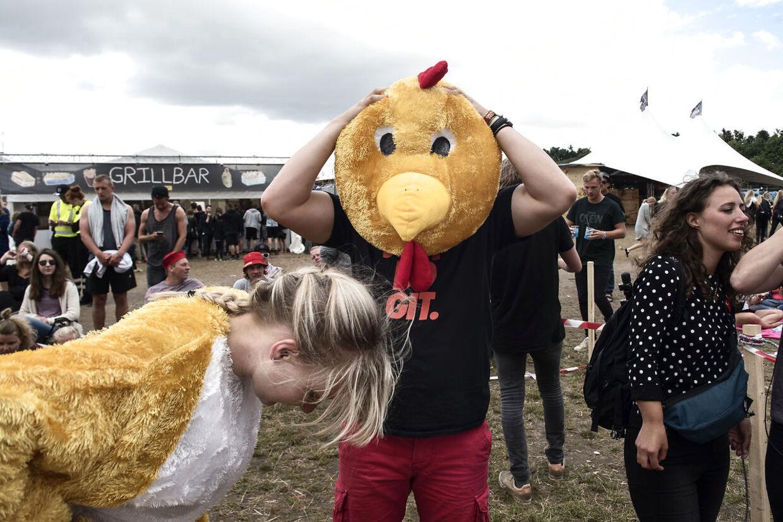 På Skanderborg Festival 2016 blev der onsdag middag afholdt konkurrencen 'Det hurtigste dyr på heden' i campingområdet 'Kærligheden'. Fire makkerpar dystede mod hinanden i tre heats forhindringer. Den ene guider, og den anden løber gennem banen iført et dyrekostume. Den går dog ikke i år.