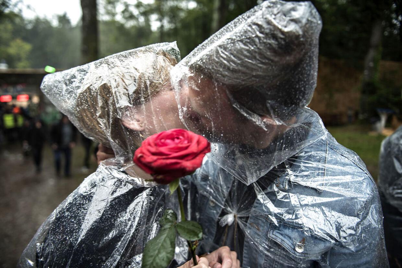 Har man maskeret sig for at undgå regn i ansigtet, er det dog helt okay.