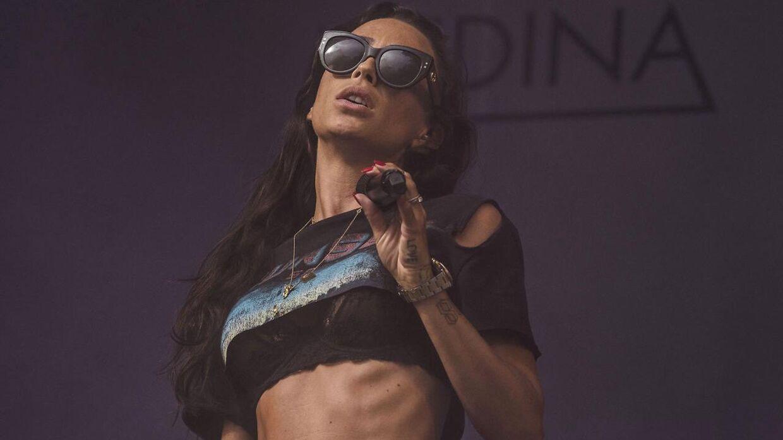 Medina spillede en hitparade af en koncert på Smukfest torsdag.