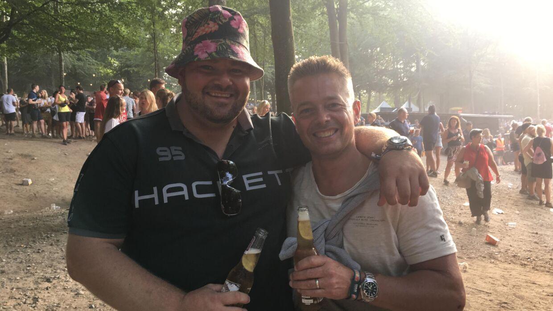 Lars Lysgaard og Brian Madsen.