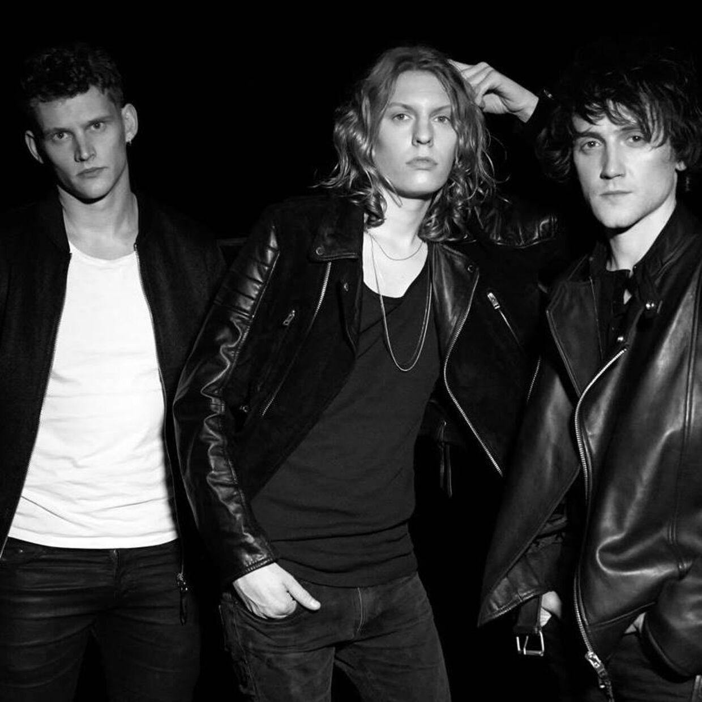 De sidste tre Dúné-medlemmer: Ole Bjorn, Mattias Kolstrup og Piotrek Wasilewski.