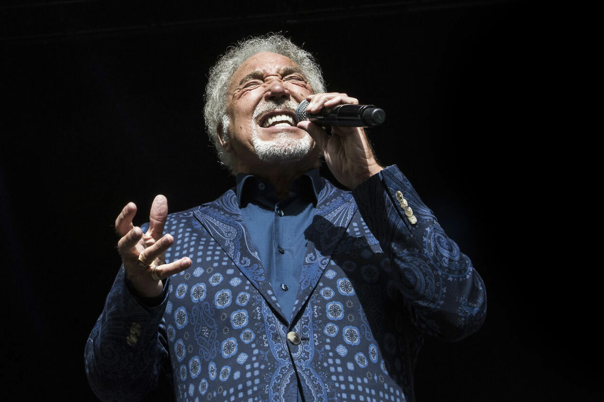 Tom Jones på Smukfest 2018.