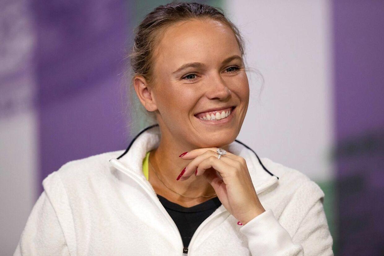 Caroline Wozniacki skal i aktion i US Open i slutningen af august.