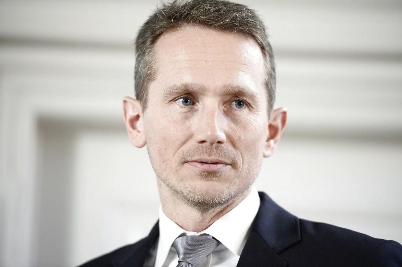 Finansminister Kristian Jensen (V) fortæller, at udgangspunktet for Venstre stadig er et skattestop.