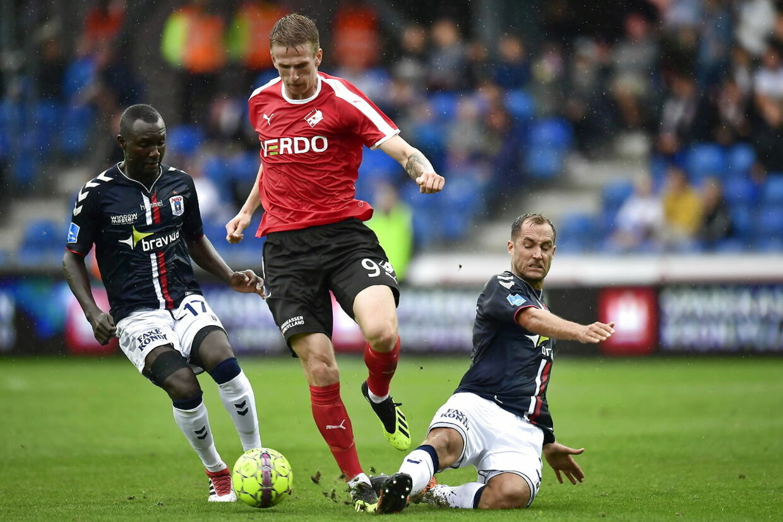 Superligakampen mellem Randers FC og AGF på Bionutria Park Randers søndag den 12. august 2018. (Foto: Bo Amstrup/Scanpix 2018)