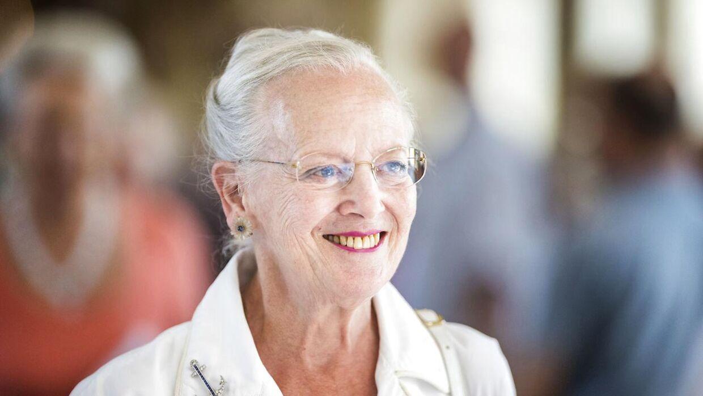 Dronning Margrethe holder torsdag sit første pressemøde på Cayx i mange år. (Arkivfoto)