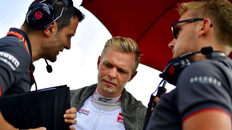 Kevin Magnussen forventer, at han forlænger med Haas.