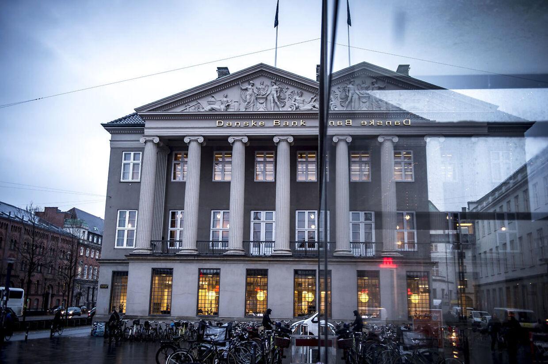 Danske Banks hovedsæde i København. Arkivfoto