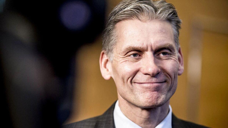 Thomas F. Borgen er afgående direktør i Danske Bank. Arkivfoto
