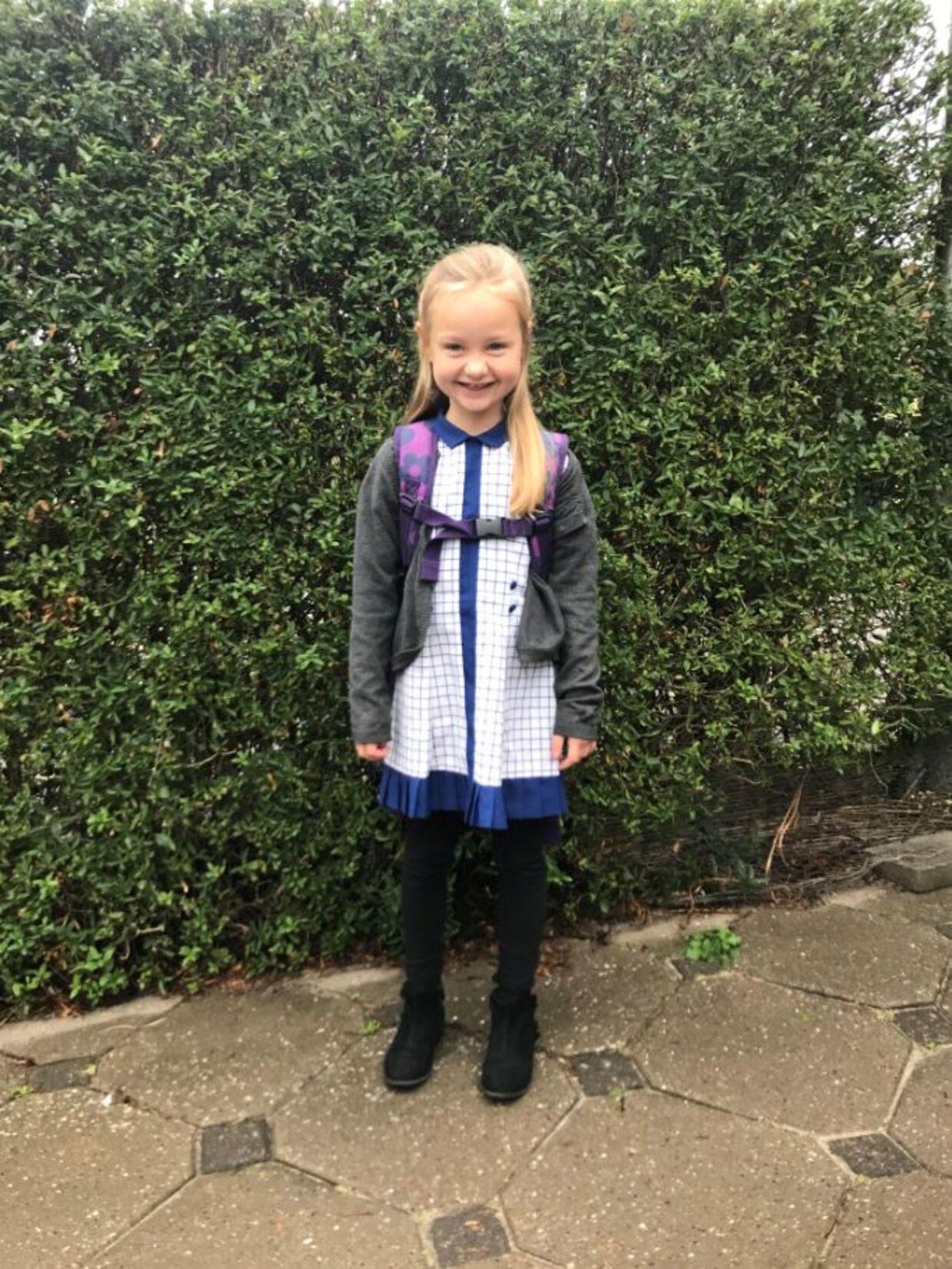 6-årige Ebba, der for en stund blev arkæolog