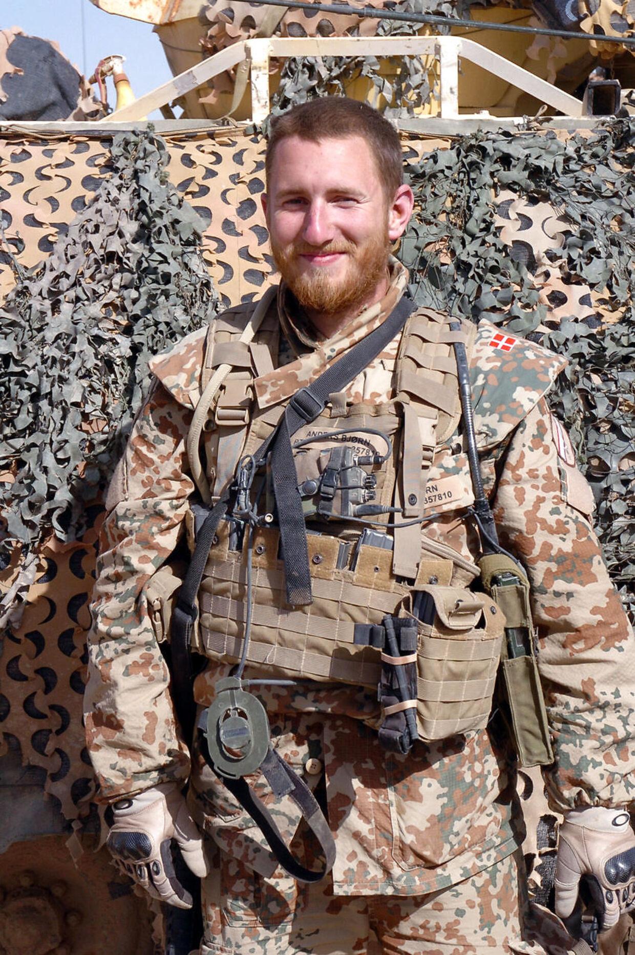 En nedgravet sprængladning dræbte konstabel Anders Bjørn Storgaard fra Odin-kompagniet.