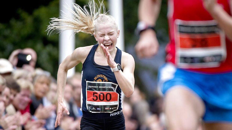 Anna Emilie Møller skal igen i år løbe Eremitageløb.