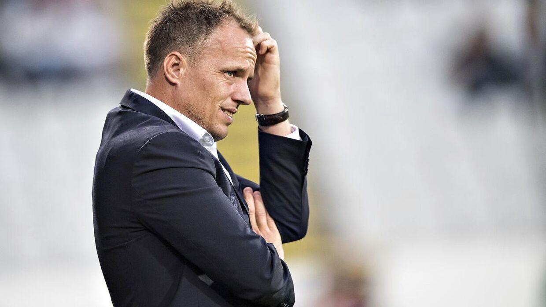 Jakob Michelsens tropper fik søndag aften point mod FC Midtjylland.