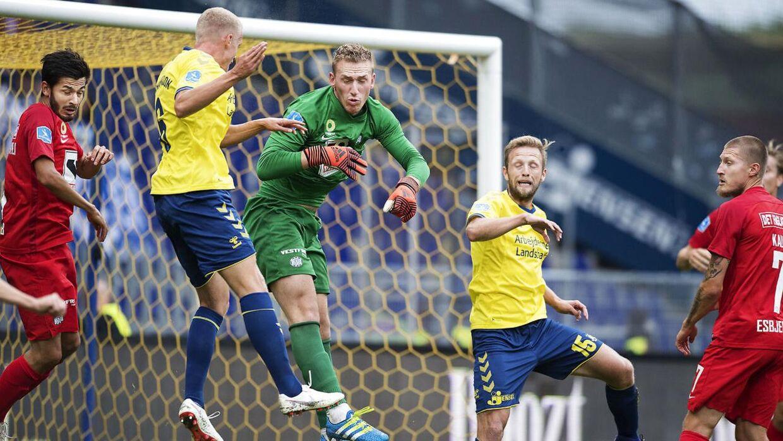 Det lykkedes for Esbjerg at snyde Brøndby søndag.