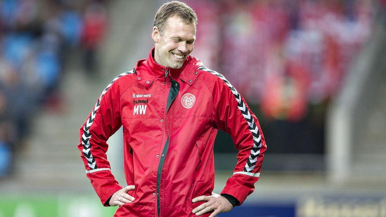 AaBs cheftræner Morten Wieghorst.