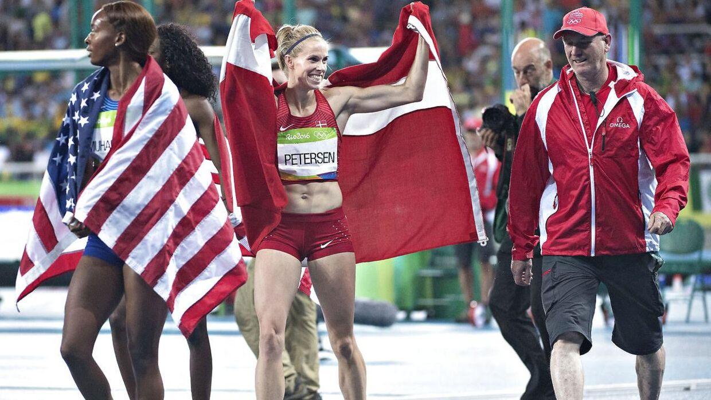 Sara Slott Petersen vandt sølv i 400 meter hæk for kvinder ved OL i Rio. Ifølge Michael Andersen er det ikke sandsynligt, at Danmark får en atletikmedalje ved næste OL.