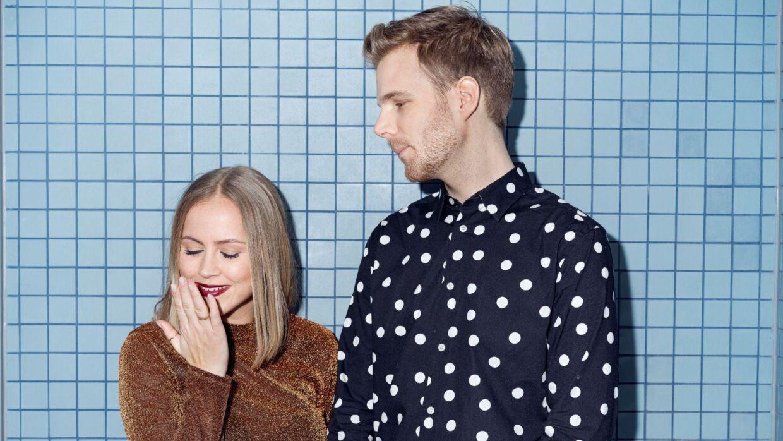 Anders Hagen og Line Kirsten Nikolajsen er afløsere på Go' Morgen P3.