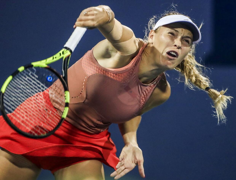 Caroline Wozniacki står foran US Open.