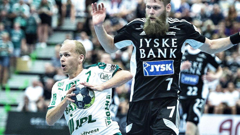 Skjern Håndbold og Anders Eggert tabte (arkivfoto). (Foto: Henning Bagger/Ritzau Scanpix)