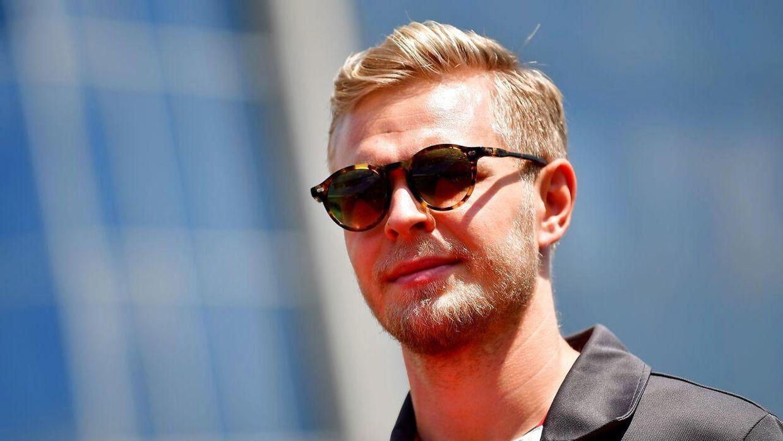 Kevin Magnussen er ikke utilfreds med dommen fra byretten, selvom han tabte på flere punkter. (AFP PHOTO / ANDREJ ISAKOVIC)