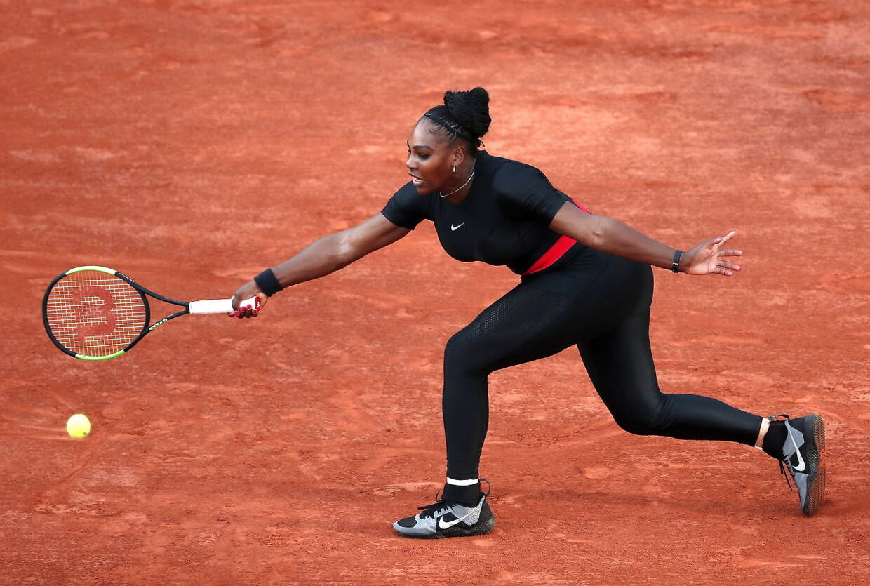 Serena Williams i Paris.
