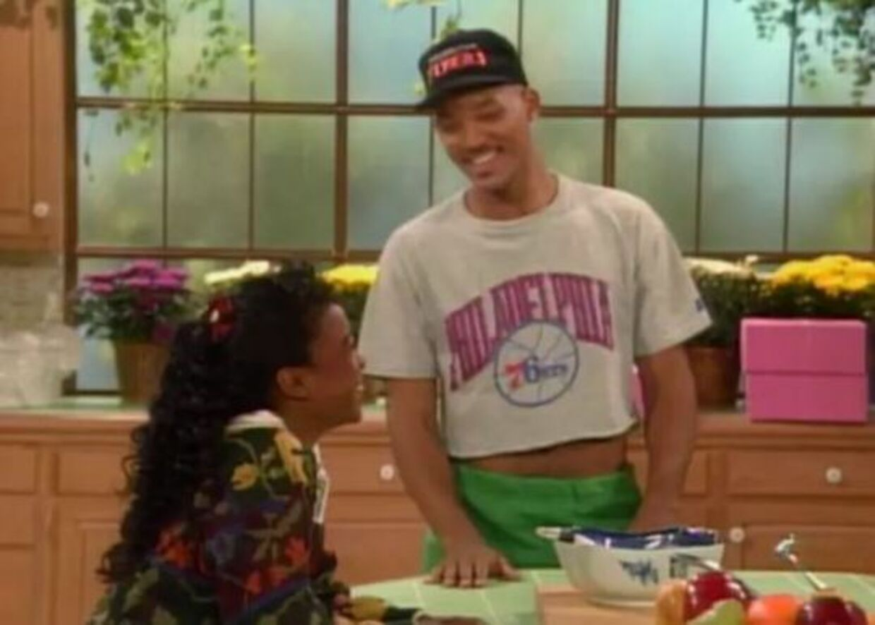 Will Smith i en smart 90'er-top.