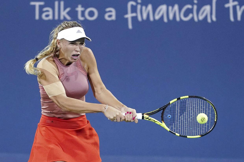 Caroline Wozniacki har i løbet af sommeren været plaget af skader.