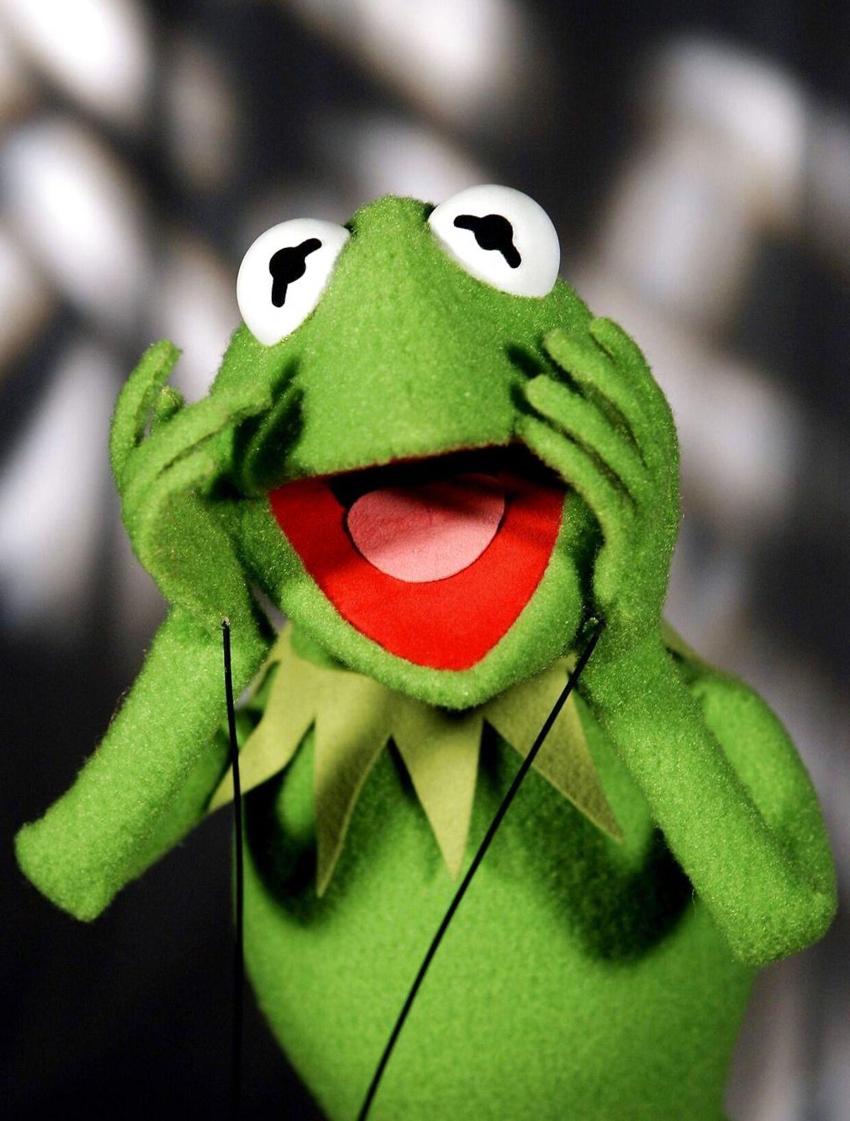 Sådan ville Kermit reagere, hvis han så den nye version af 'Muppet Show' 'Happy Time Murders'.