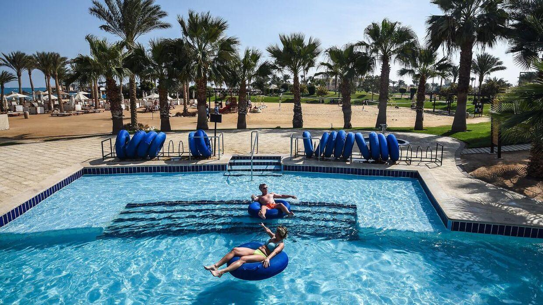 Egyptens turistindustri er ved at komme sig efter nedgangen for seks år siden.