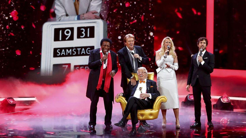 Dieter Thomas Heck hædres for sit virke i 2017, hvor han modtog 'det gyldne kamera'.