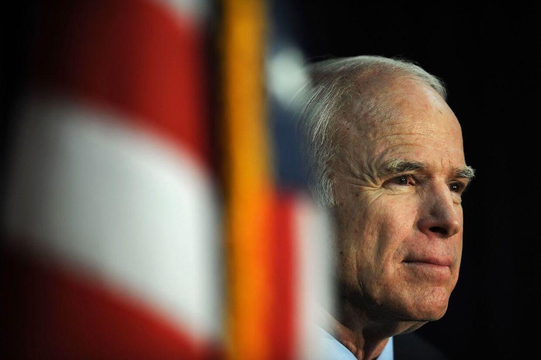 Senator John McCain døde lørdag i en alder af 81.