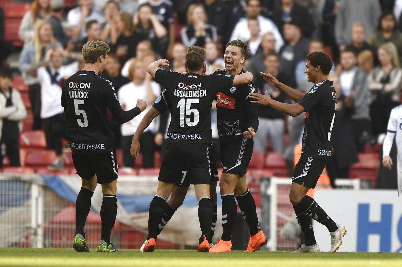Superliga: FC København - SønderjyskE i Parken i København, søndag den 26. august 2018.