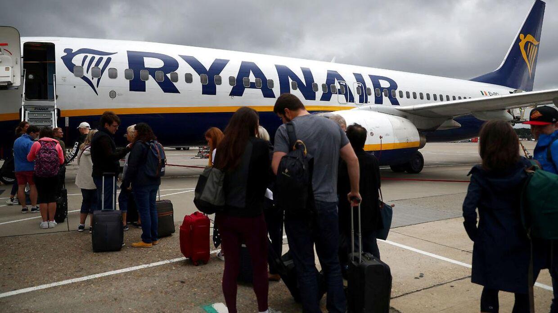 Det er kun Ryanair, der flyver til Luton fra København - men selskabet flyver til gengæld flere hundrede tusinde til London-lufthavnen hvert år.