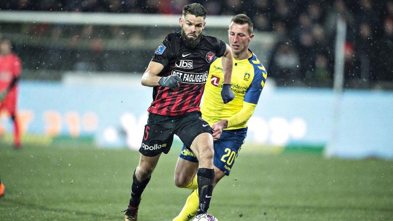 Brøndby og FC Midtjylland mødes søndag i Superligaen.
