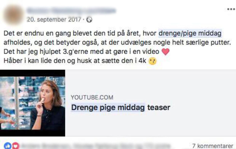 Facebook-opslag