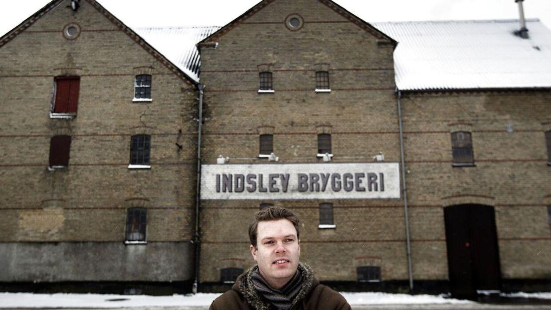 Direktør for Indslev Bryggeri Anders Busse Rasmussen.