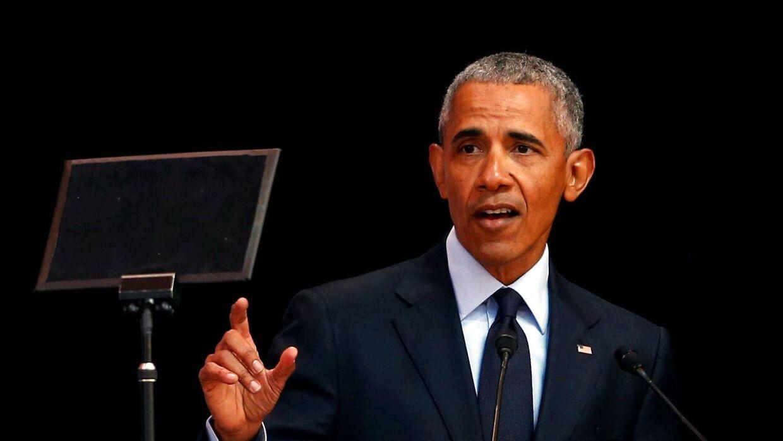 Den tidligere amerikanske præsident Barack Obama besøger Danmark i slutningen af september. (Arkivfoto)