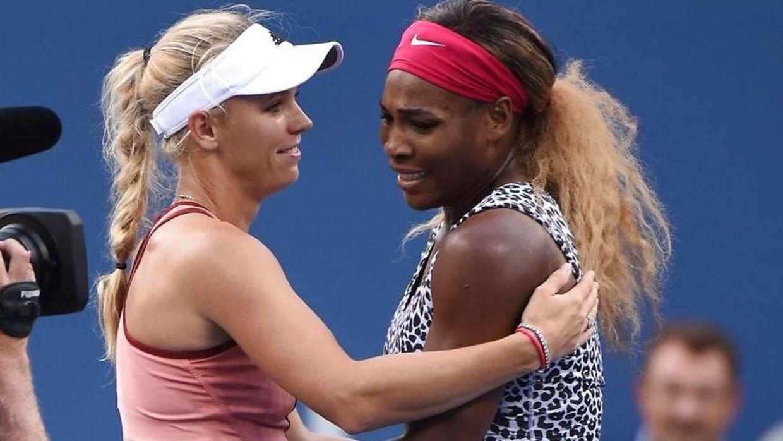 Caroline Wozniacki og Serena Williams er gode veninder udenfor banen.