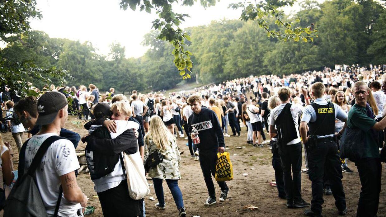 Arkivfoto: Her afholdes årets 'puttefest' i Dyrehaven for en række gymnasier. Festen har intet at gøre med de 'puttemiddage', som artiklen beskriver.