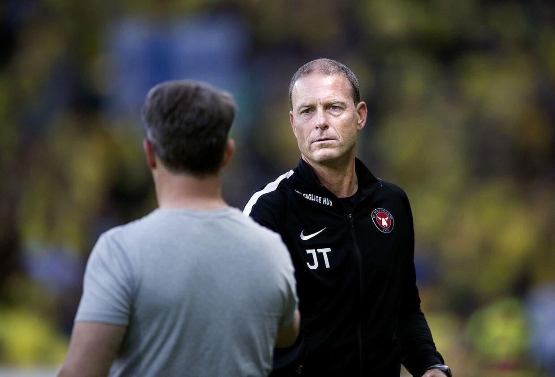 Brøndby er alt andet end imponeret over FC Midtjyllands ageren i forbindelse med deres forsøg på at hente Simon Tibbling.